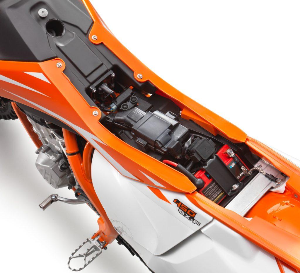 KTM EXC Motorrad mit Batterie. Hier finden Sie alle Batterien für Ihre KTM