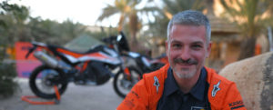 KTM Factory Racing Rally Team Manager Jordi Viladoms bei der Silk Way Rally 2019.