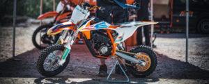 Die KTM SX-E ist das Bike der wahl beim MXE