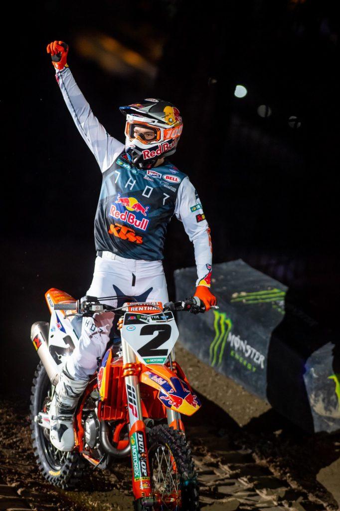 Cooper Webb freut sich über den vierten Platz in Indianapolis