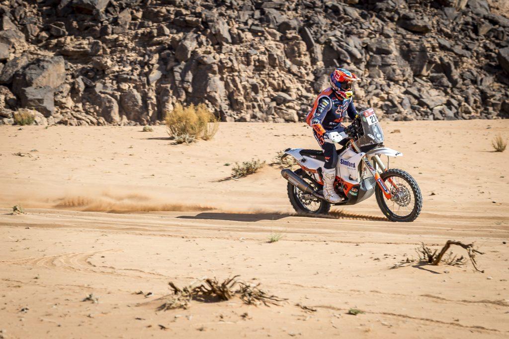 Daniel Sanders - KTM Factory Racing - 2021 Dakar Rally Etappe acht