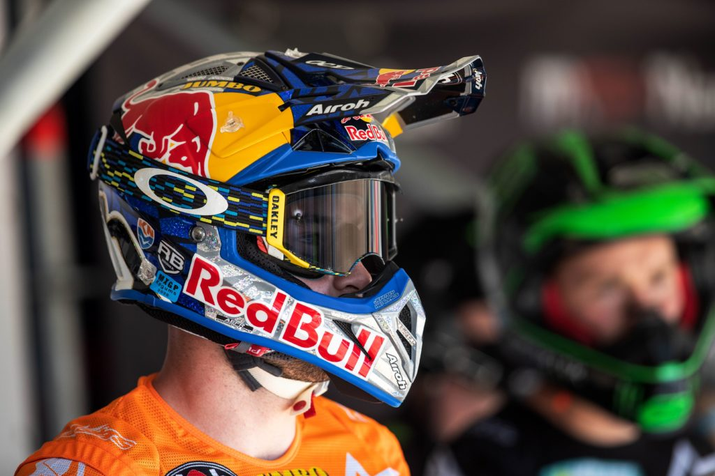 KTM RedBull Racing Team Star Jeffery Herlings