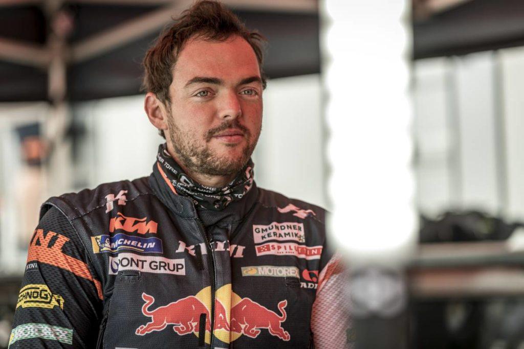 Matthias Walkner Wird am ersten Tag der Silk Way Rally fünfterr