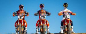 Cooper Webb, Marvin Musquin & Maximus Vohland sind bereit für die AMA 2021