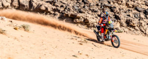 Sam Sunderland - Red Bull KTM Factory Racing - 2021 Dakar Rally Etappe acht - Cover