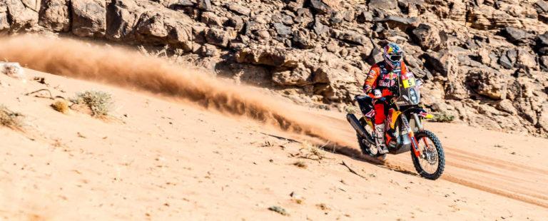 Sam Sunderland - Red Bull KTM Factory Racing - 2021 Dakar Rally Etappe acht - Cover