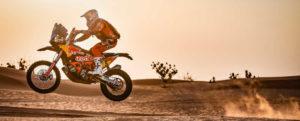 Guter fünfter Platz für Sam Sunderland auf Etappe fünf der Dakar 2021