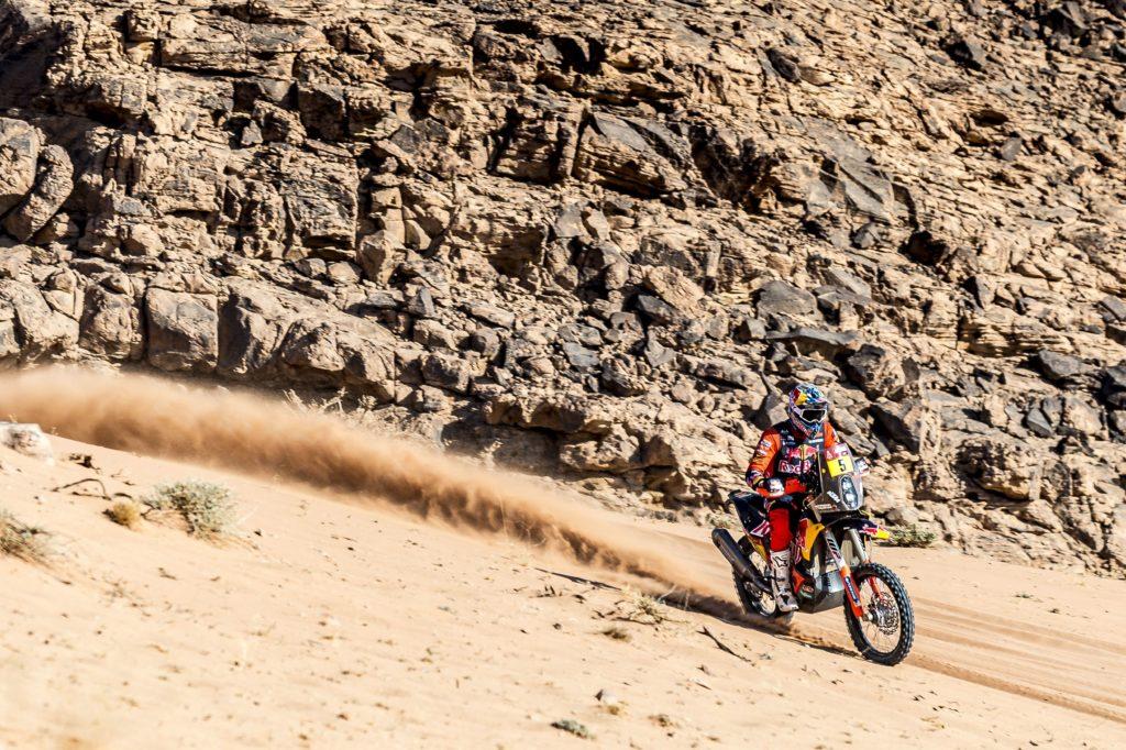 Sam Sunderland - Red Bull KTM Factory Racing - 2021 Dakar Rally Etappe acht