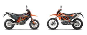 690 Enduro R & 690 SMC-R 2021